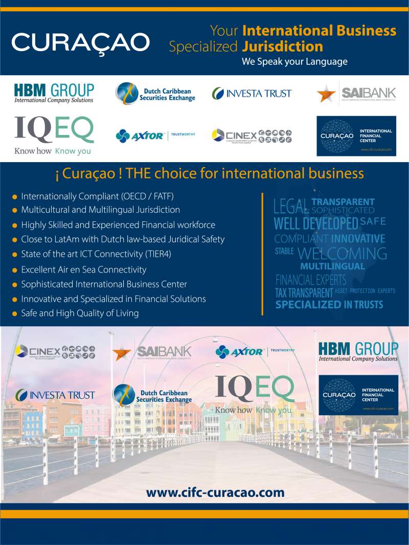 Curaçao, THE choice for international business